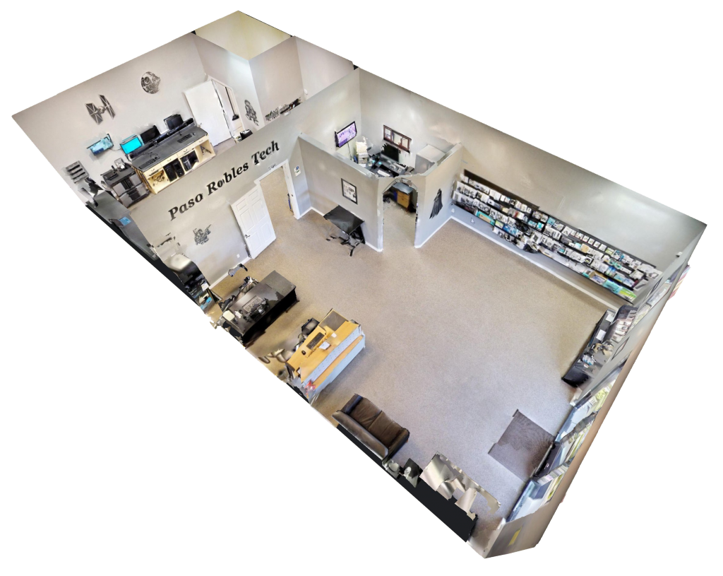Matterport comercial example